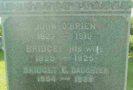 O'BRIEN, BRIDGET E - Berkshire County, Massachusetts | BRIDGET E O'BRIEN - Massachusetts Gravestone Photos
