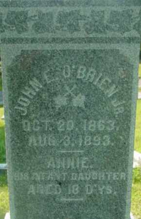 O'BRIEN, ANNIE - Berkshire County, Massachusetts | ANNIE O'BRIEN - Massachusetts Gravestone Photos