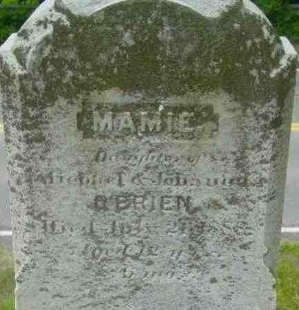 O'BRIEN, MAMIE - Berkshire County, Massachusetts | MAMIE O'BRIEN - Massachusetts Gravestone Photos