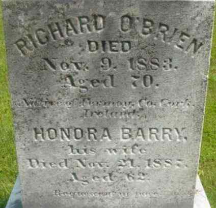 O'BRIEN, RICHARD - Berkshire County, Massachusetts | RICHARD O'BRIEN - Massachusetts Gravestone Photos