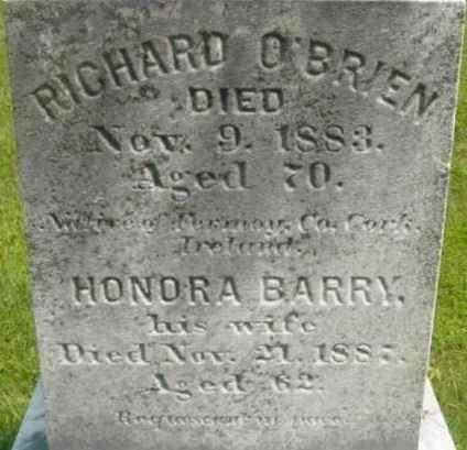 BARRY, HONORA - Berkshire County, Massachusetts | HONORA BARRY - Massachusetts Gravestone Photos