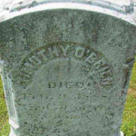 O'BRIEN, TIMOTHY - Berkshire County, Massachusetts | TIMOTHY O'BRIEN - Massachusetts Gravestone Photos