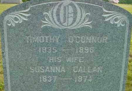 O'CONNOR, SUSANNA - Berkshire County, Massachusetts   SUSANNA O'CONNOR - Massachusetts Gravestone Photos