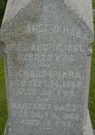 BAILEY, MARGARET - Berkshire County, Massachusetts   MARGARET BAILEY - Massachusetts Gravestone Photos