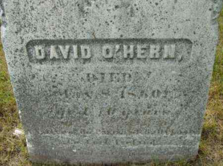 O'HERN, DAVID - Berkshire County, Massachusetts | DAVID O'HERN - Massachusetts Gravestone Photos