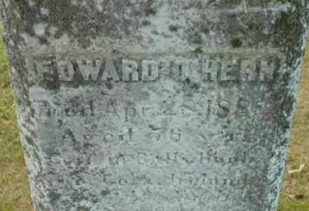 O'HERN, EDWARD - Berkshire County, Massachusetts | EDWARD O'HERN - Massachusetts Gravestone Photos