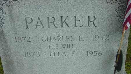PARKER, CHARLES E - Berkshire County, Massachusetts | CHARLES E PARKER - Massachusetts Gravestone Photos