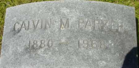 PARKER, CALVIN M - Berkshire County, Massachusetts   CALVIN M PARKER - Massachusetts Gravestone Photos