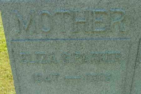 PARKER, ELIZA S - Berkshire County, Massachusetts   ELIZA S PARKER - Massachusetts Gravestone Photos