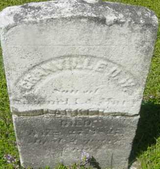 PARKER, GRANVILLE D W - Berkshire County, Massachusetts   GRANVILLE D W PARKER - Massachusetts Gravestone Photos