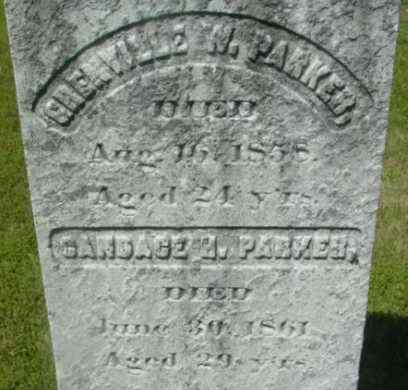 PARKER, CANDACE H - Berkshire County, Massachusetts | CANDACE H PARKER - Massachusetts Gravestone Photos