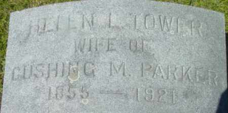 PARKER, HELEN L - Berkshire County, Massachusetts   HELEN L PARKER - Massachusetts Gravestone Photos