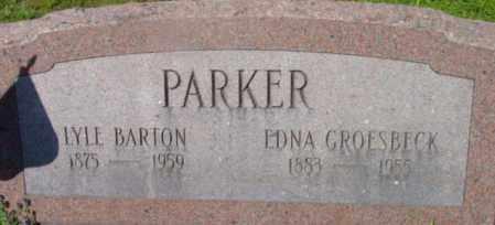 PARKER, LYLE BARTON - Berkshire County, Massachusetts | LYLE BARTON PARKER - Massachusetts Gravestone Photos