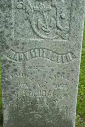 PARKER, MARY ELIZABETH - Berkshire County, Massachusetts | MARY ELIZABETH PARKER - Massachusetts Gravestone Photos