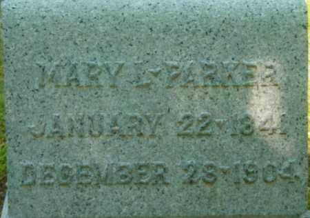 PARKER, MARY L - Berkshire County, Massachusetts | MARY L PARKER - Massachusetts Gravestone Photos