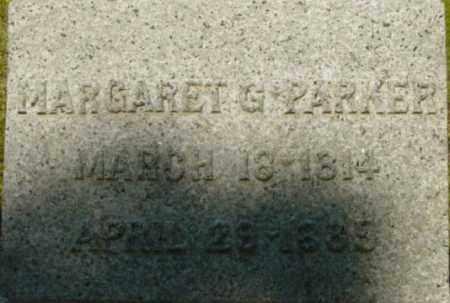 PARKER, MARGARET G - Berkshire County, Massachusetts | MARGARET G PARKER - Massachusetts Gravestone Photos