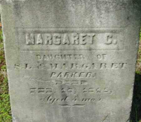 PARKER, MARGARET C - Berkshire County, Massachusetts   MARGARET C PARKER - Massachusetts Gravestone Photos