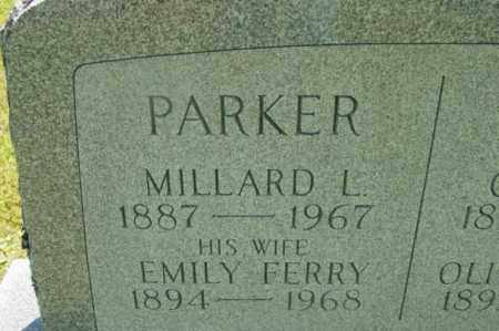 FERRY PARKER, EMILY - Berkshire County, Massachusetts | EMILY FERRY PARKER - Massachusetts Gravestone Photos