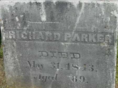 PARKER, RICHARD - Berkshire County, Massachusetts   RICHARD PARKER - Massachusetts Gravestone Photos