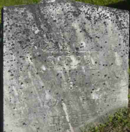 PARKER, SARAH - Berkshire County, Massachusetts | SARAH PARKER - Massachusetts Gravestone Photos