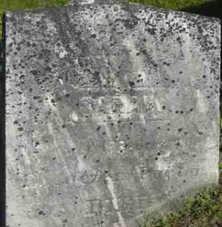 PARKER, SARAH - Berkshire County, Massachusetts   SARAH PARKER - Massachusetts Gravestone Photos