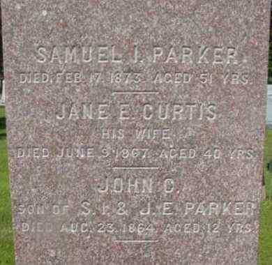 PARKER, SAMUEL I - Berkshire County, Massachusetts | SAMUEL I PARKER - Massachusetts Gravestone Photos