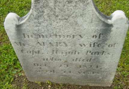PARKS, MARY - Berkshire County, Massachusetts | MARY PARKS - Massachusetts Gravestone Photos