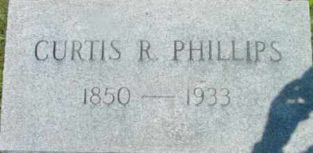 PHILLIPS, CURTIS R - Berkshire County, Massachusetts | CURTIS R PHILLIPS - Massachusetts Gravestone Photos