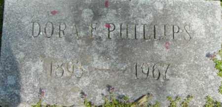 PHILLIPS, DORA F - Berkshire County, Massachusetts   DORA F PHILLIPS - Massachusetts Gravestone Photos
