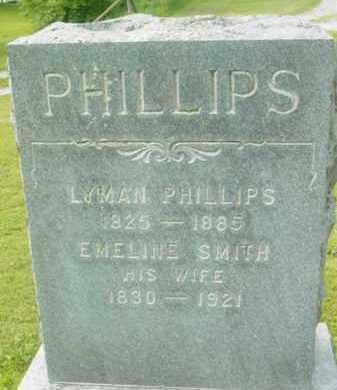 PHILLIPS, EMELINE - Berkshire County, Massachusetts   EMELINE PHILLIPS - Massachusetts Gravestone Photos