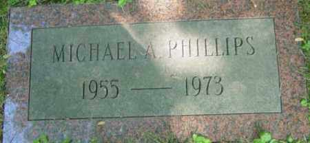 PHILLIPS, MICHAEL A - Berkshire County, Massachusetts | MICHAEL A PHILLIPS - Massachusetts Gravestone Photos
