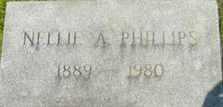 PHILLIPS, NELLIE A - Berkshire County, Massachusetts   NELLIE A PHILLIPS - Massachusetts Gravestone Photos