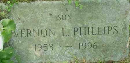 PHILLIPS, VERNON L - Berkshire County, Massachusetts | VERNON L PHILLIPS - Massachusetts Gravestone Photos