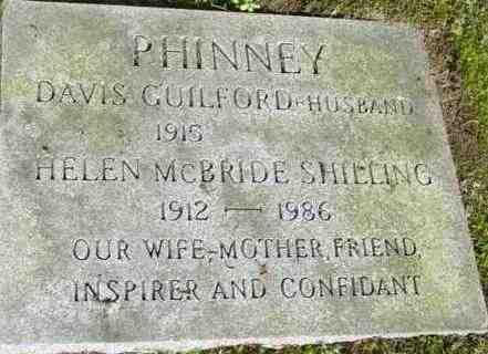 SHILLING PHINNEY, HELEN MCBRIDE - Berkshire County, Massachusetts | HELEN MCBRIDE SHILLING PHINNEY - Massachusetts Gravestone Photos