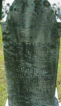 PIERCE, CLARENCE - Berkshire County, Massachusetts | CLARENCE PIERCE - Massachusetts Gravestone Photos