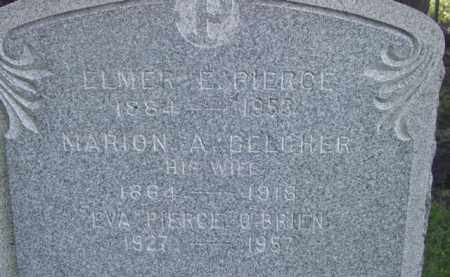 PIERCE, ELMER E - Berkshire County, Massachusetts | ELMER E PIERCE - Massachusetts Gravestone Photos