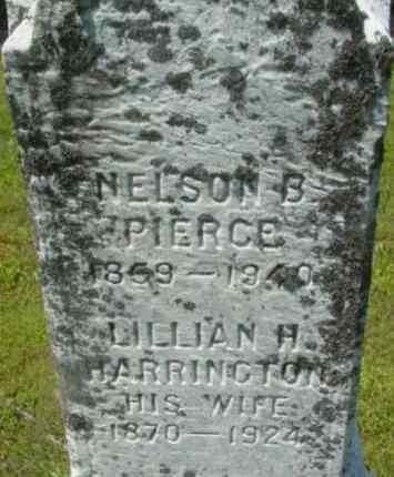 PIERCE, NELSON B - Berkshire County, Massachusetts | NELSON B PIERCE - Massachusetts Gravestone Photos