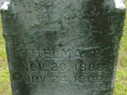 PIERCE, THELMA R - Berkshire County, Massachusetts | THELMA R PIERCE - Massachusetts Gravestone Photos