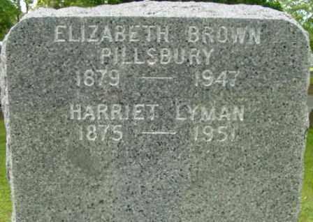 BROWN, ELIZABETH - Berkshire County, Massachusetts | ELIZABETH BROWN - Massachusetts Gravestone Photos