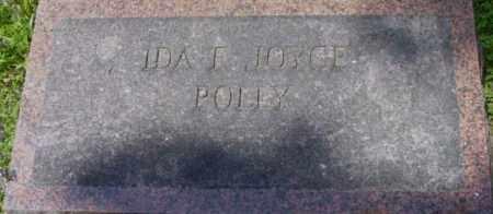 POLLY, IDA T JOYCE - Berkshire County, Massachusetts | IDA T JOYCE POLLY - Massachusetts Gravestone Photos