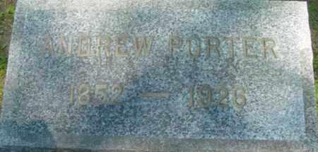 PORTER, ANDREW - Berkshire County, Massachusetts | ANDREW PORTER - Massachusetts Gravestone Photos