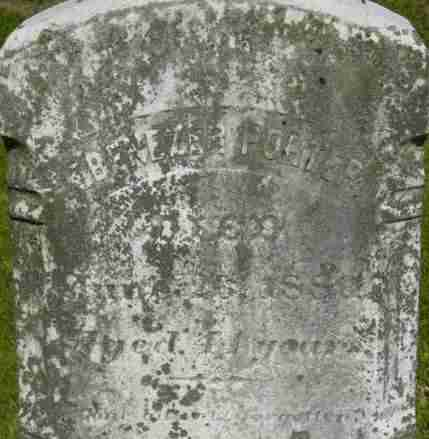 PORTER, EBENEZER - Berkshire County, Massachusetts | EBENEZER PORTER - Massachusetts Gravestone Photos