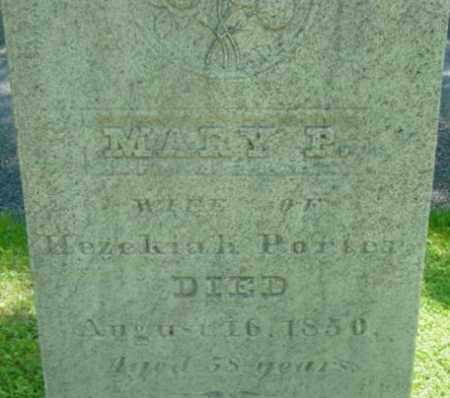 PORTER, MARY P - Berkshire County, Massachusetts   MARY P PORTER - Massachusetts Gravestone Photos