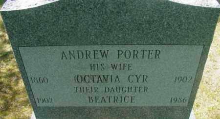 PORTER, BEATRICE - Berkshire County, Massachusetts   BEATRICE PORTER - Massachusetts Gravestone Photos
