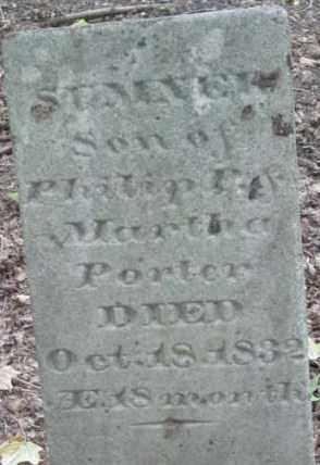 PORTER, SUMNER - Berkshire County, Massachusetts   SUMNER PORTER - Massachusetts Gravestone Photos