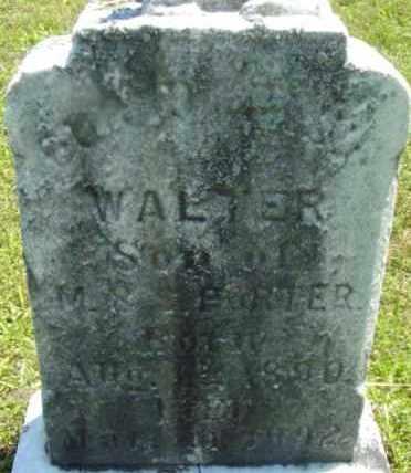 PORTER, WALTER - Berkshire County, Massachusetts | WALTER PORTER - Massachusetts Gravestone Photos