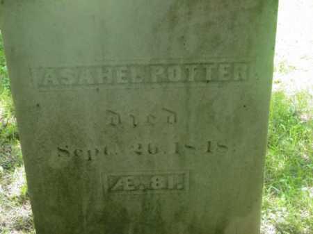 POTTER, ASAHEL - Berkshire County, Massachusetts   ASAHEL POTTER - Massachusetts Gravestone Photos