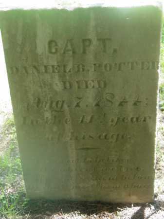 POTTER (SERV), DANIEL B - Berkshire County, Massachusetts | DANIEL B POTTER (SERV) - Massachusetts Gravestone Photos