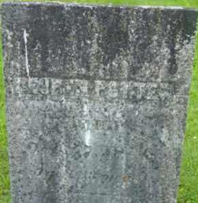 POTTER, REUBEN - Berkshire County, Massachusetts | REUBEN POTTER - Massachusetts Gravestone Photos