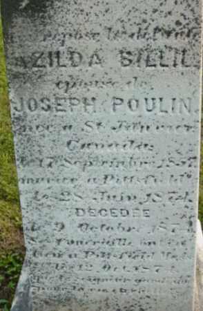 POULIN, AZILDA - Berkshire County, Massachusetts | AZILDA POULIN - Massachusetts Gravestone Photos